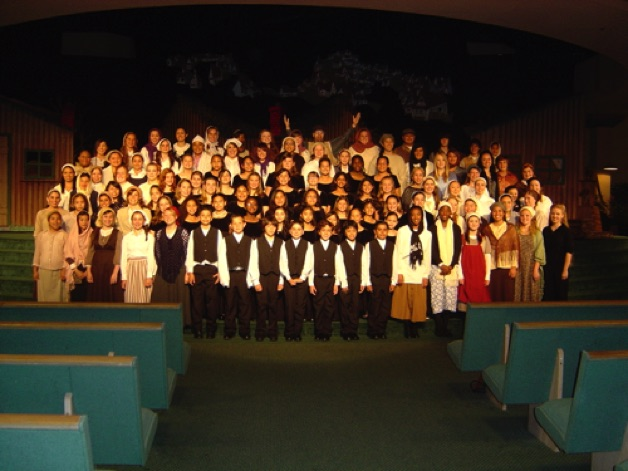 "CCCS of Downey production of ""Fiddler on the Roof"" 2007"